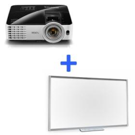 Новогодние цены на комплекты: интерактивная доска SMART + проектор BenQ