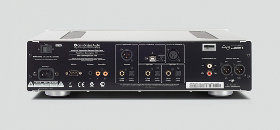 CD проигрыватель Cambridge Audio 851C Silver